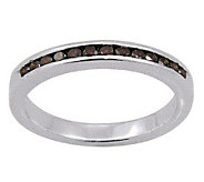 Red Diamond Band Ring, Sterling, 1/4 cttw, by Affinity - J307648