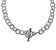 Judith Ripka 5th Avenue 18 Topaz Chain Necklace, Sterling - J312348