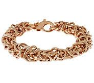 Bronzo Italia 7-1/4 Bold Byzantine Bracelet - J312448