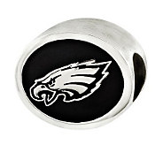 Sterling Philadelphia Eagles NFL Bead - J315148
