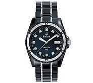 Bulova Mens Diamond Two-Tone Bracelet Watch - J316548