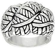 JAI Sterling Bold Sukhothai Ring - J331248