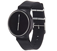 MisFit Black Sport Strap Phase Hybrid Smart Watch - J348048