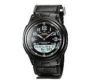 Casio Mens World Time Ana-Digi Black Watch - J106949