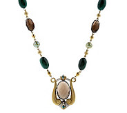 Echo of the Dreamer Avalon Necklace Sterling/Bronze - J155649