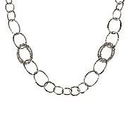 Michael Dawkins Sterling Granulation Drop 20 Necklace - J264149
