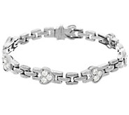 Judith Ripka Sterling Diamonique Heart 7-1/4 Bracelet - J331649
