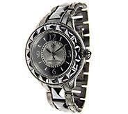 Judith Ripka Stainless Steel & Ceramic Watch - J337649