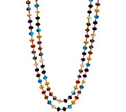 Linea by Louis DellOlio Linked Faceted Bead Necklace - J350149