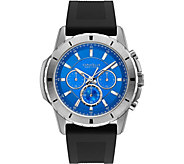 Caravelle New York Mens Chronograph Silicone Strap Watch - J375949