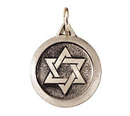 Sterling Silver Star Of David Charm - J108350