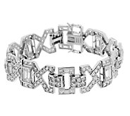 TOVA for Diamonique Wedding Bracelet, Sterling - J282250