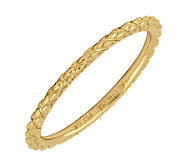 Simply Stacks Sterling 18K Yellow Gold-Plated 1.5mm Ring - J298850