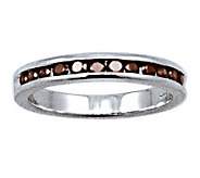 Red Diamond Band Ring, Sterling, 1/2 cttw, by Affinity - J307650