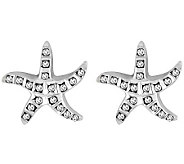 Diamond Fascination Sterling Starfish Stud Earrings - J309950