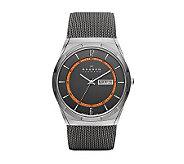 Skagen Mens Stainless Steel Mesh Bracelet Watch - J313950