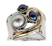Hagit Gorali Sterling Cultured Freshwater PearlRing - J314150