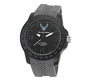 Wrist Armor Mens U.S. Air Force C26 Stealth &Gray Watch - J316350