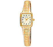 Pulsar Womens Goldtone Expansion Band Watch - J316750