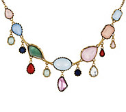 LOGO Links by Lori Goldstein Assorted Shapes Hanging Necklace - J346950