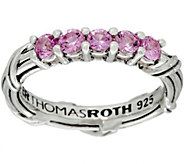 Peter Thomas Roth Sterling Colors of Sapphire Band Ring - J349850