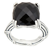 Peter Thomas Roth Sterling Silver Cushion Cut Gemstone Ring - J352250