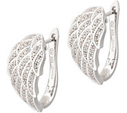 Angel Wing Diamond Earrings, Sterling, 1/4ct by Affinity - J354150