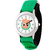 Marvel Guardians Boys SS Green Watch - J376850