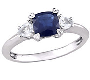 14K 1.70 cttw Blue & White Sapphire EngagementRing - J377050