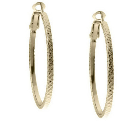 Qvc hoop earrings