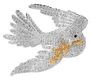 Joan Rivers Pave Dove of Peace Pin - J271451