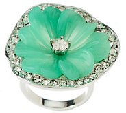 Kenneth Jay Lanes Zinnia Flower Ring - J271651