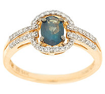 Alexandrite & Diamond Ring, 14k Gold, 0.65 ct tw - J319851
