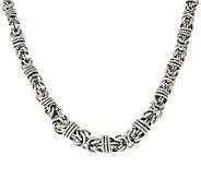 Bronze 18 Graduated Byzantine Necklace by Bronzo Italia - J323951