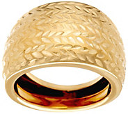 EternaGold Bold Diamond Cut Ring 14K Gold - J330551