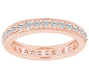 Diamond Eternity Milgrain Band Ring, 14K, by Affinity - J341351