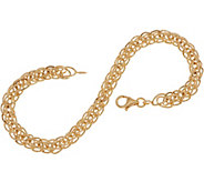 14K Gold 6-3/4 Wheat Chain Bracelet, 2.1g - J350551