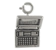 Discount Electronics On Sale Sterling Laptop Computer Charm