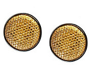 Joan Rivers Sequin Shimmer Button Earrings - J260952