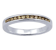 Champagne Diamond Ring, Sterling, 1/4 cttw, by Affinity - J307652