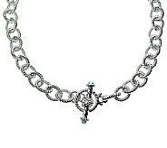 Judith Ripka 5th Avenue 22 Topaz Chain Necklac e, Sterling - J312352