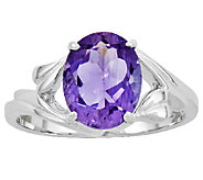 Sterling Choice of Faceted Oval Gemstone Ring - J315852