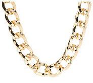 As Is Kenneth Jay Lanes 17 Twisted Link Necklace - J333452