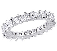 Affinity 18K 2-9/10 cttw Princess Diamond Eternity Band Ring - J381352