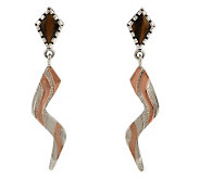 Carolyn Pollack Utah Sterling Earrings - J157353