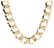 Kenneth Jay Lanes 17 Twisted Link Necklace - J274953