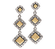 JAI Sterling & 14K Sukhothai Triple Drop Earrings - J290153