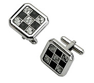 Forza Black and Gray Cuff Links - J302153