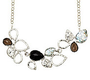 Or Paz Sterling Roman Glass & Multi-gemstone Necklace - J306753