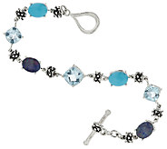 Michael Dawkins Sterling & Gemstone Tennis Bracelet - J320353